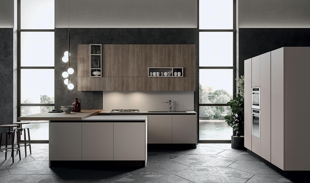 Cucina Round – Arredo3 – Gruppo Inventa