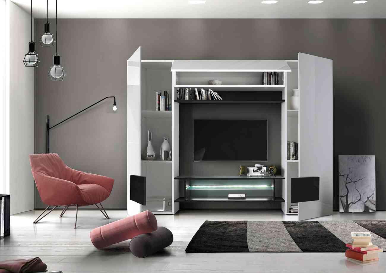 Incastro living collection lc mobili gruppo inventa for Presotto industrie mobili spa