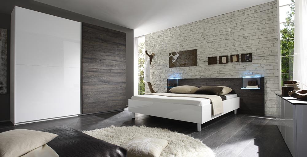 Camera Da Letto Rovere Bianco : Camera da letto collezione tambura lc mobili gruppo inventa