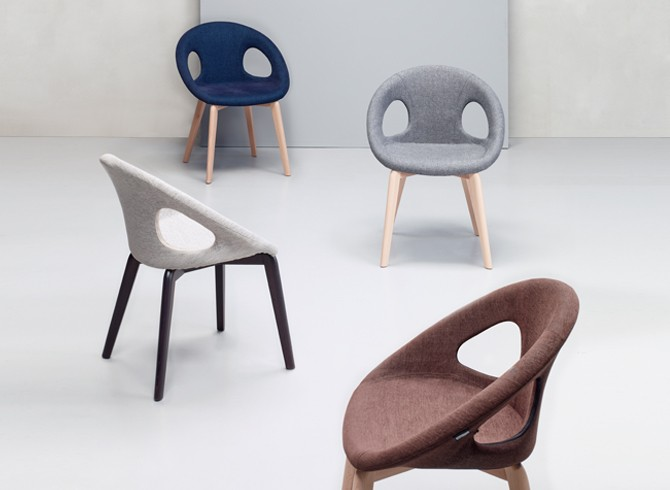 Scab Design Outlet.Natural Drop Pop Chair Scab Design Gruppo Inventa