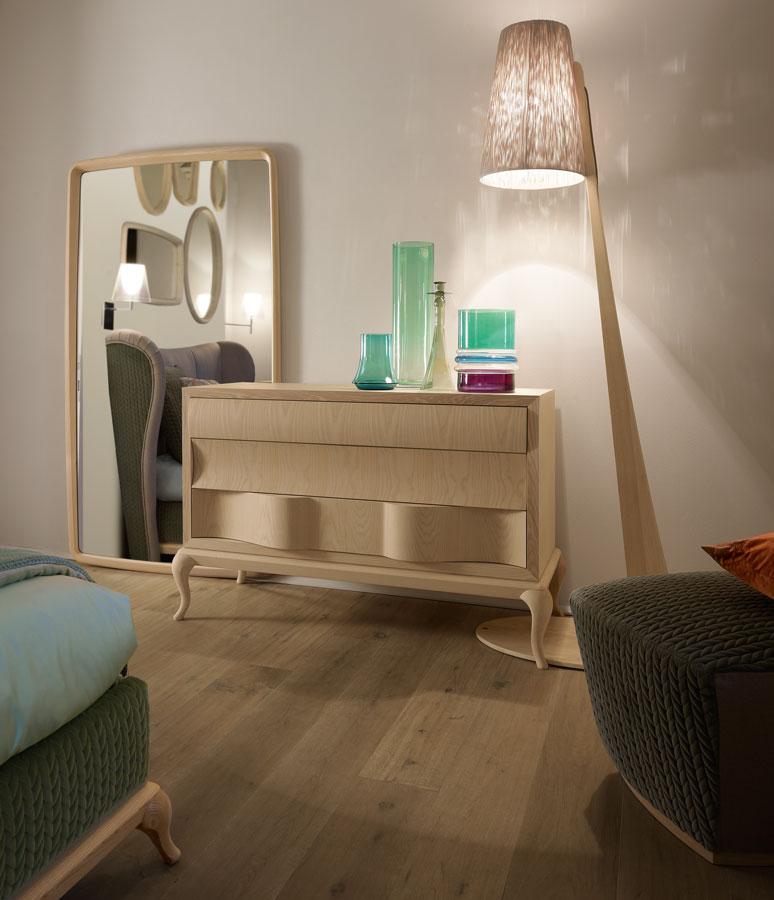 Camera da letto materie couture per vestire la casa for Arredamento volpi