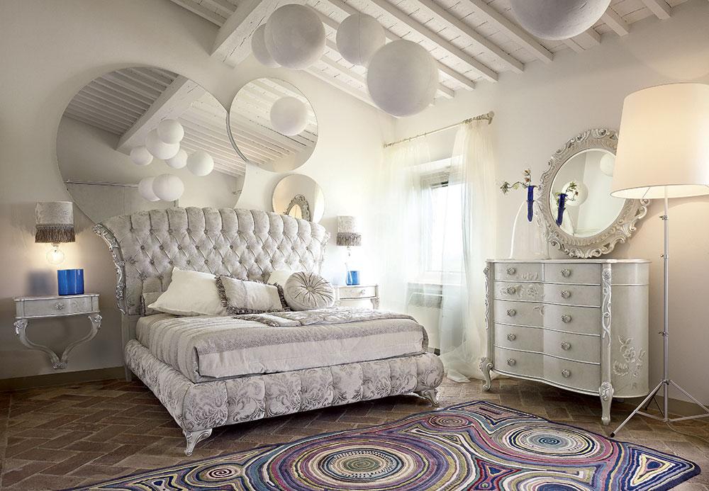 Camera da letto classica design senza tempo volpi for Arredamento volpi