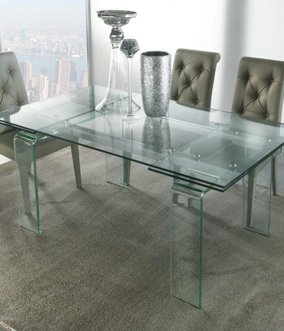 Tavolo Glass - La seggiola - Gruppo Inventa Arredamento ...