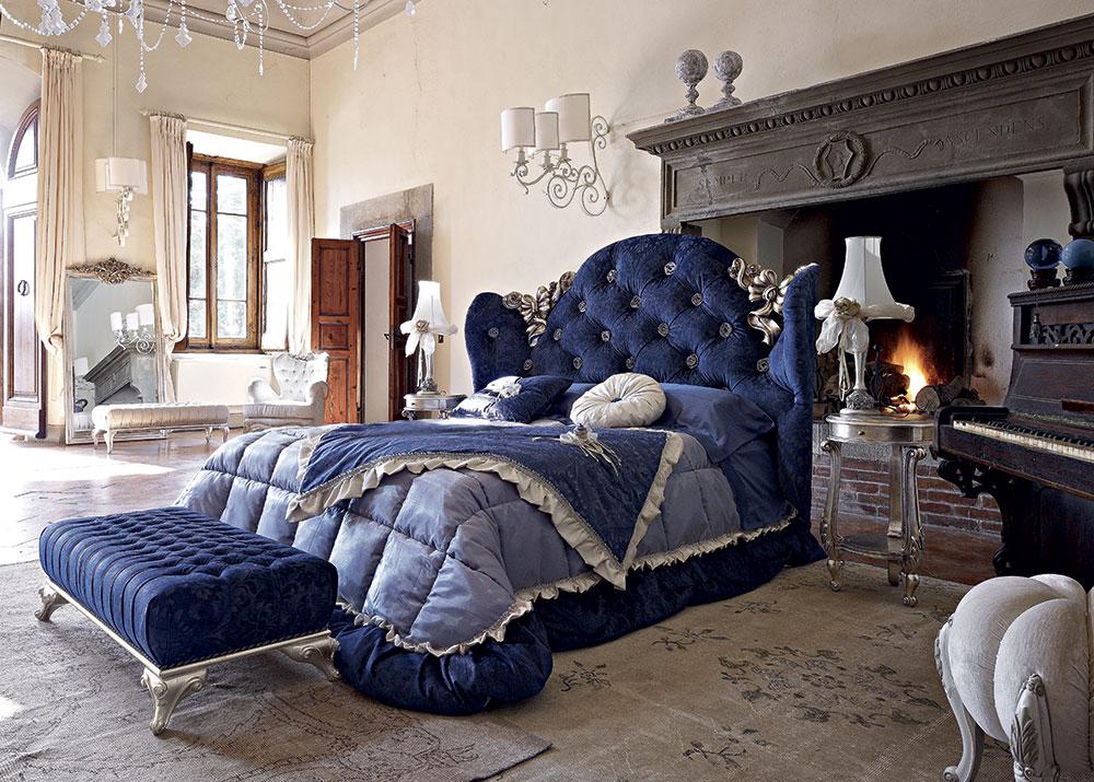 Camera da letto Classica Blu Notte – Volpi – Gruppo Inventa
