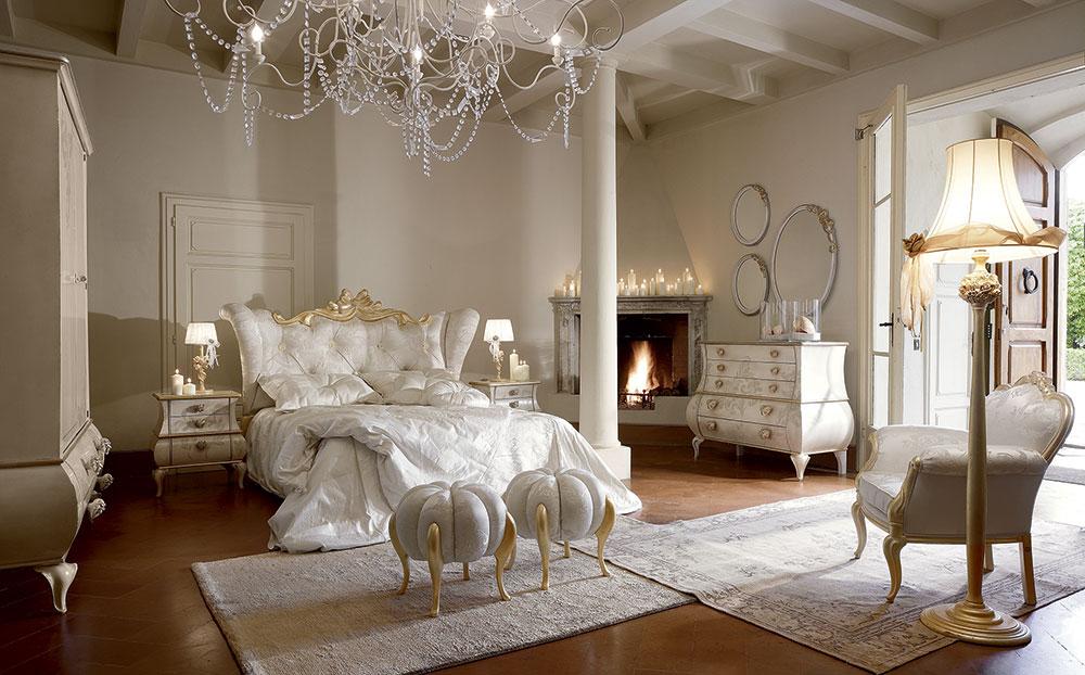 ad hoc gold classic bedroom volpi gruppo inventa