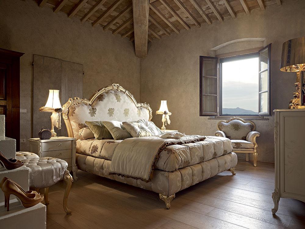 Camera da letto classica calde atmosfere volpi gruppo for Arredamento volpi