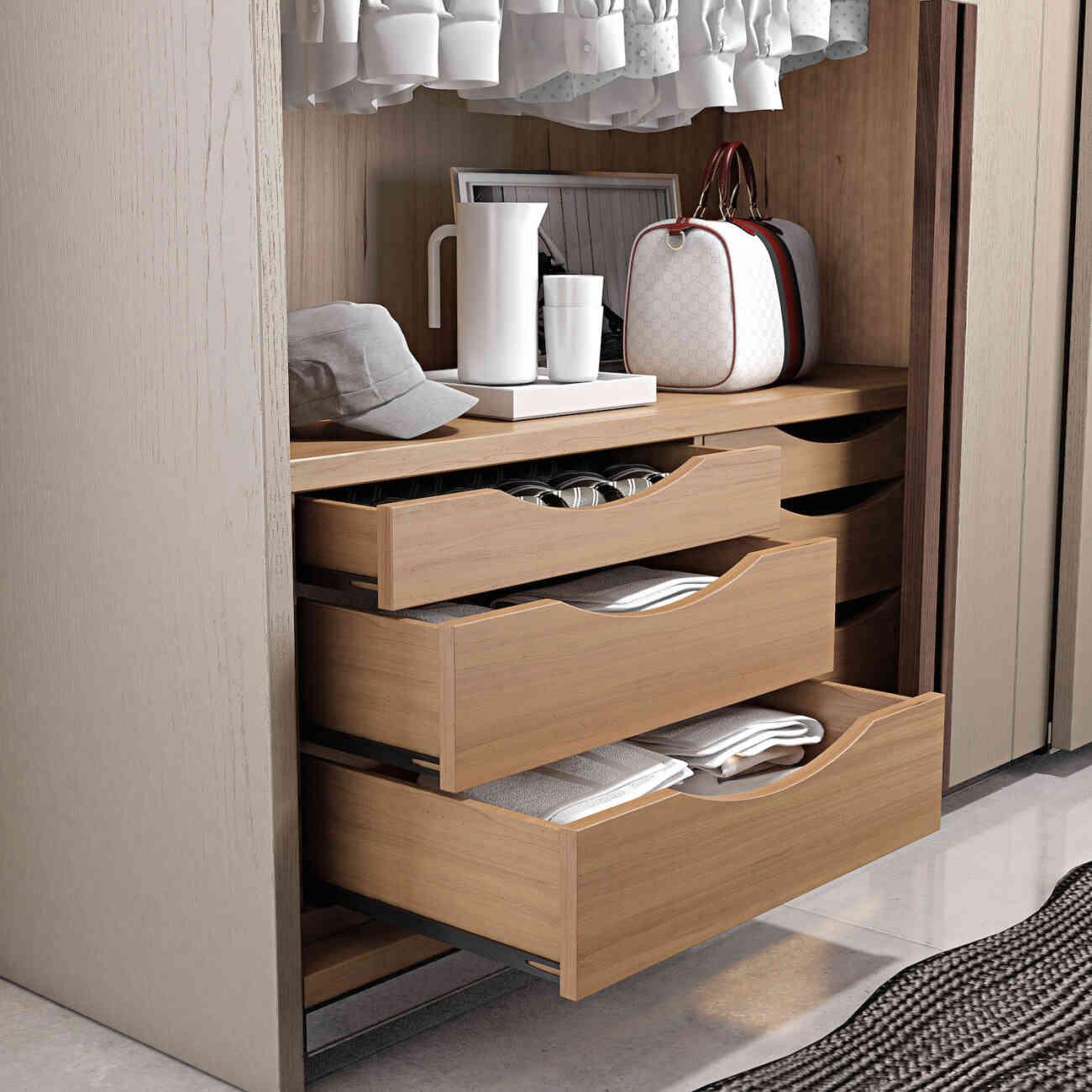 Armadio due ante scorrevoli mod rialto legno fazzini for Mobili fazzini catalogo