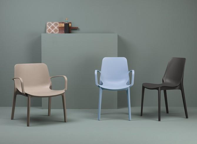 Sedia Ginevra Lounge Scab Design Gruppo Inventa