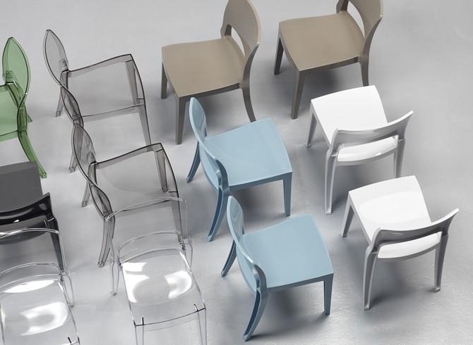 Sedia Isy tecnopolimero Scab Design Gruppo Inventa