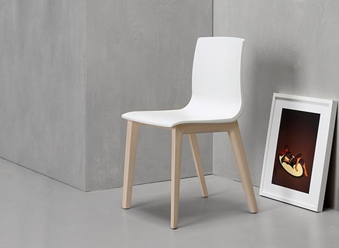 Sedia Smilla Tecnopolimero Scab Design Gruppo Inventa