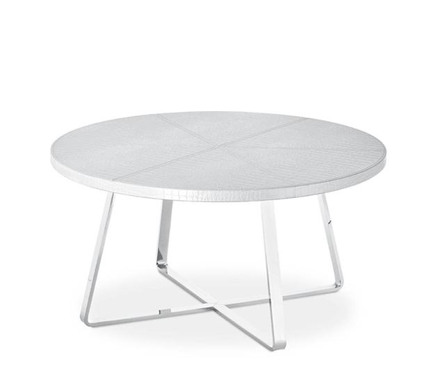 Dj Midj Coffee Table With Round Hide Top Different Sizes: Gruppo Inventa Furniture Malta