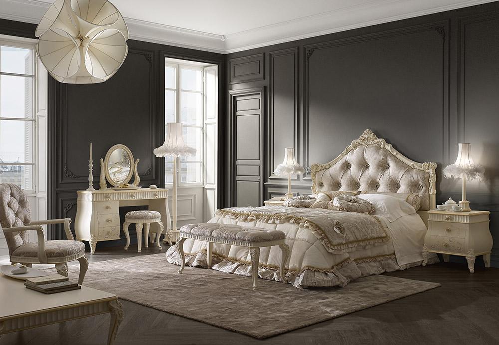 Camera da letto classica proposta 62 florentia volpi for Arredamento volpi