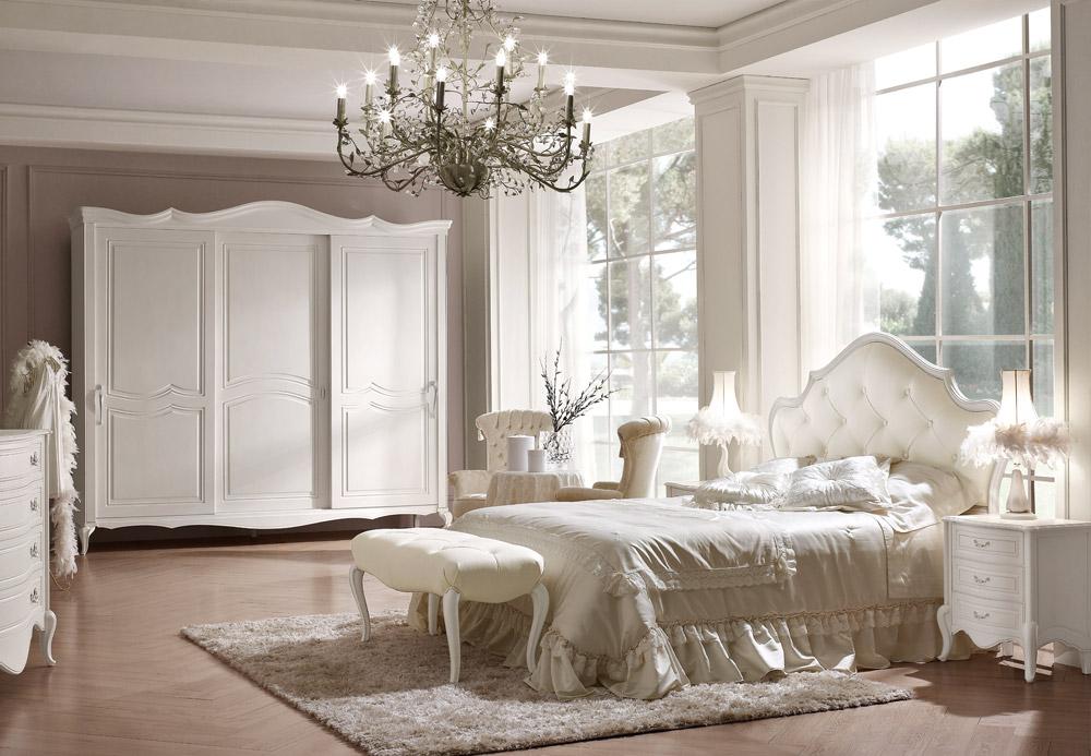 Camera da letto classica margherita collezione emporio for Arredamento volpi
