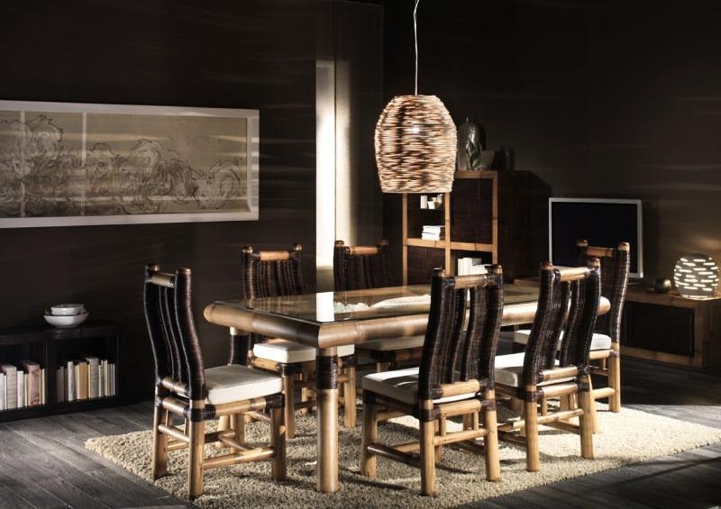 Collezione Sale da pranzo Surya Moderno Bamboo – Bortoli – Gruppo ...