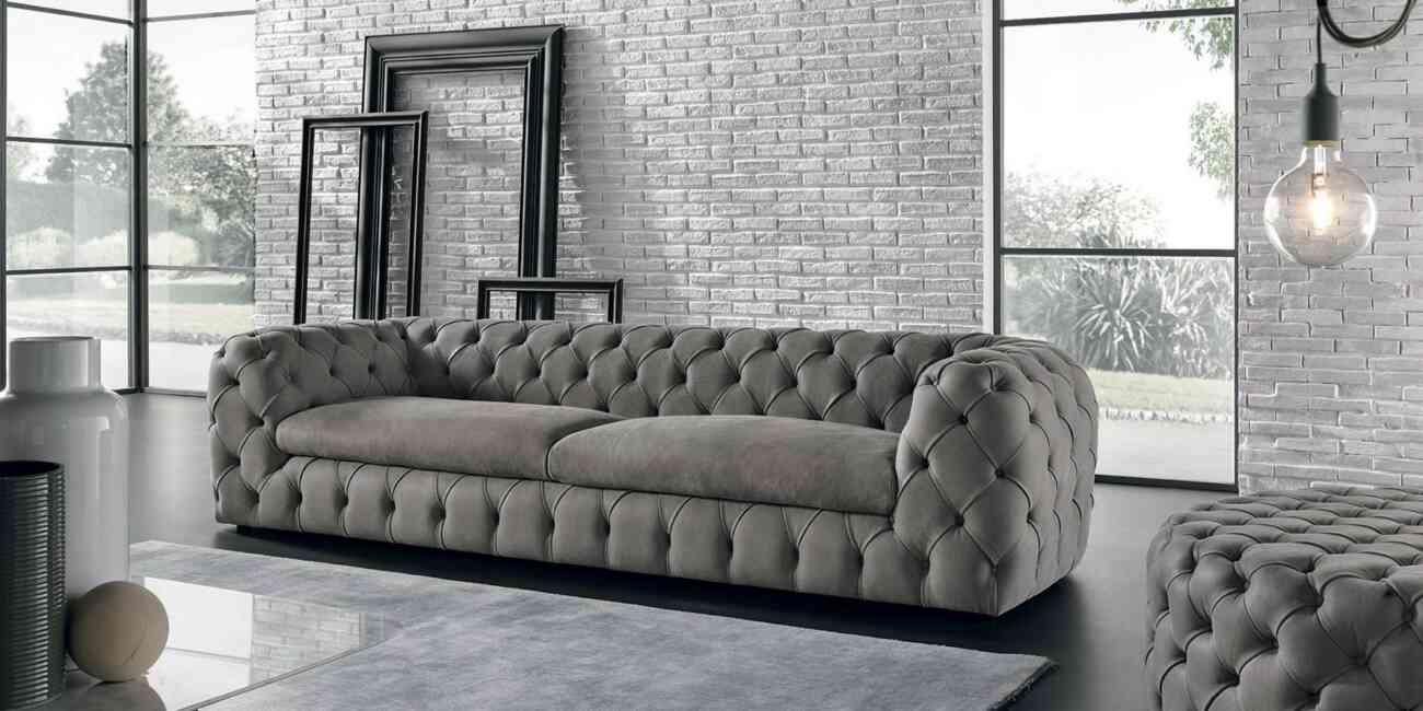 Max Divani Prezzi.Max Divani Leather Sofa