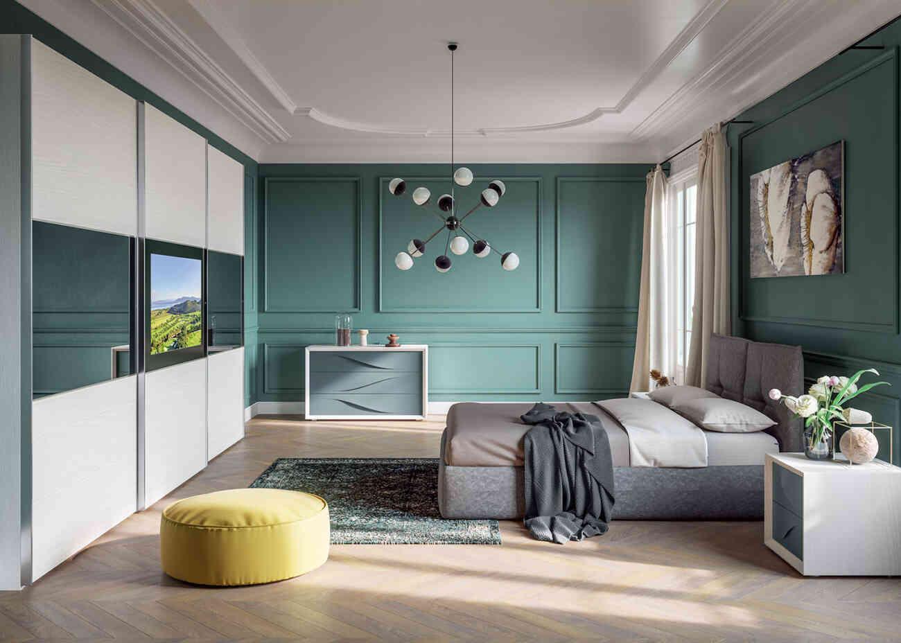 Camera da letto 23 - Giessegi - Gruppo Inventa Arredamento ...