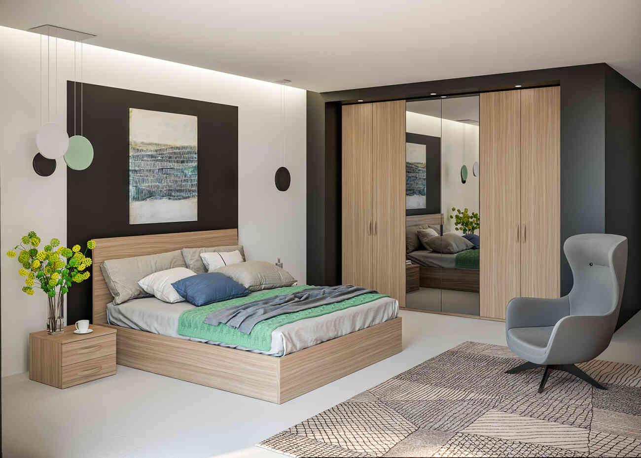 Camera da letto CM271 - Giessegi - Gruppo Inventa ...