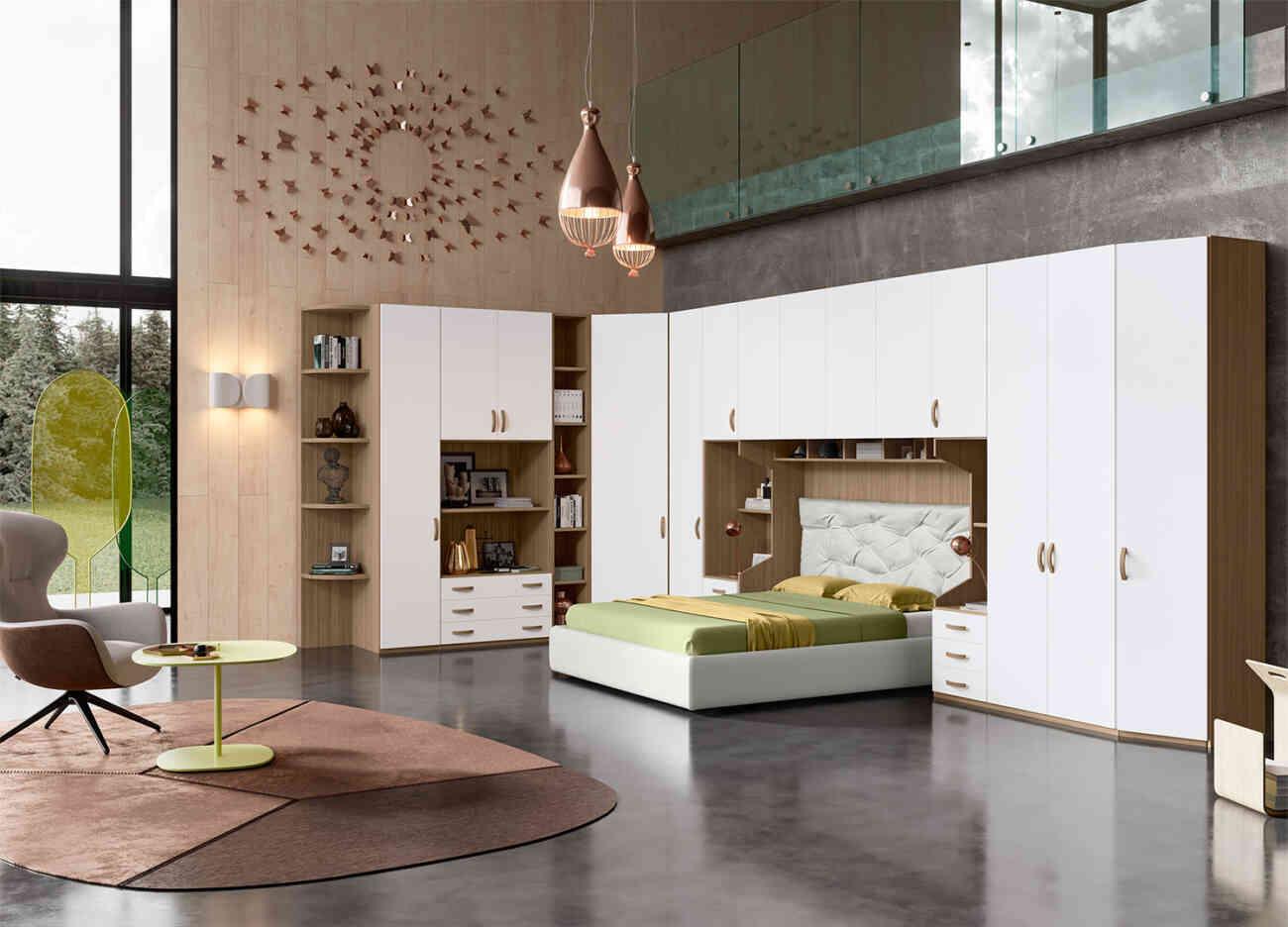 Camera da letto CM272 - Giessegi - Gruppo Inventa ...